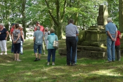 Auf dem Friedhof Bockhorst