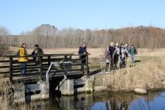 Gespräche an der Fischtreppe in Kirch Rosin